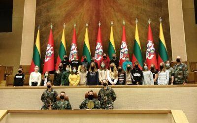 Išvyka į Lietuvos Respublikos Seimą